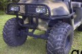 Brush Guard Black Steel