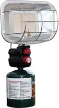 Propane Heater; Ignited, portable