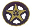 Mag style wheel cover - gold (4)