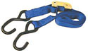 Cambuckle Strap with S Hooks 1in X 6 Foot