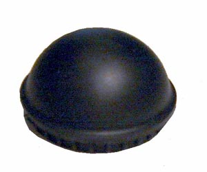 Rubber front hub dust cover