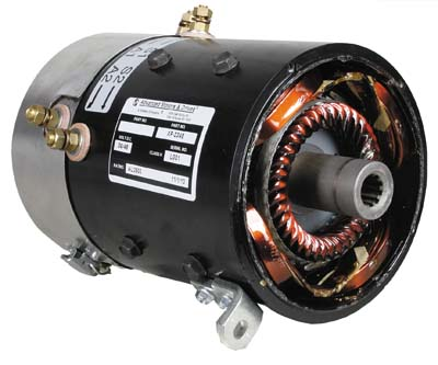 Motor, AMD 36V/4hp or 48V/5.5hp (10sp) series CC/YA