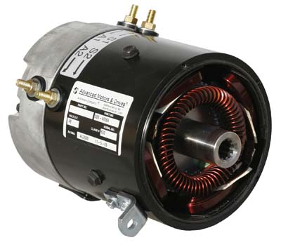 MOTOR, STOCK REPL; CC 1990-UP DS