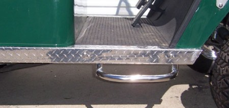 Stainless Steel Loop Step