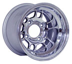 6-spoke polished aluminum